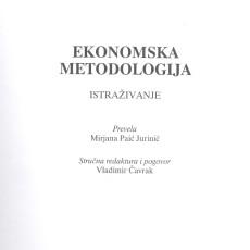 Ekonomska metodologija 001